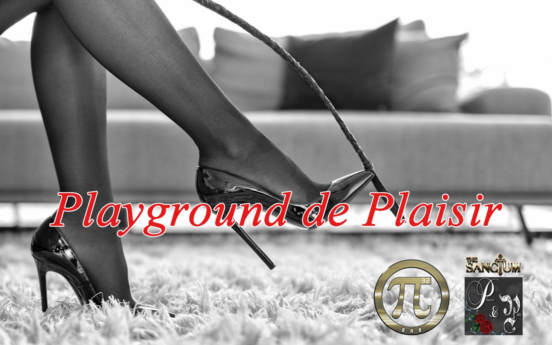 """Playground de Plaisir"""
